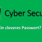 Bild Cyber Security Passwort